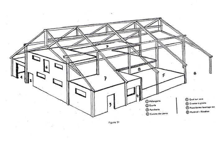 plan hangar bois gratuit