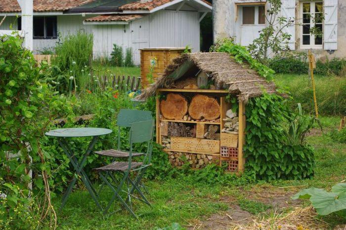 construire abris bois
