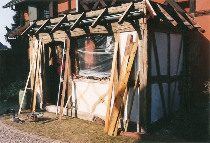 construire une veranda en bois