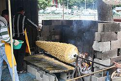 barbecue a broche