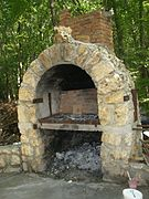 barbecue gaz exterieur