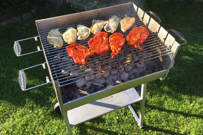 barbecue meaning in english