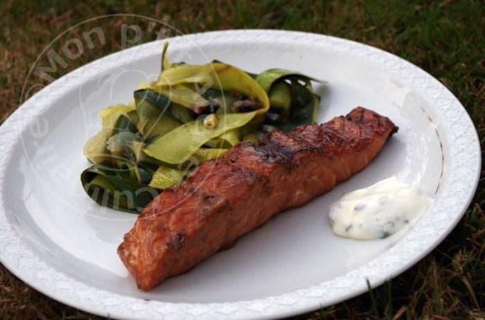 barbecue saumon