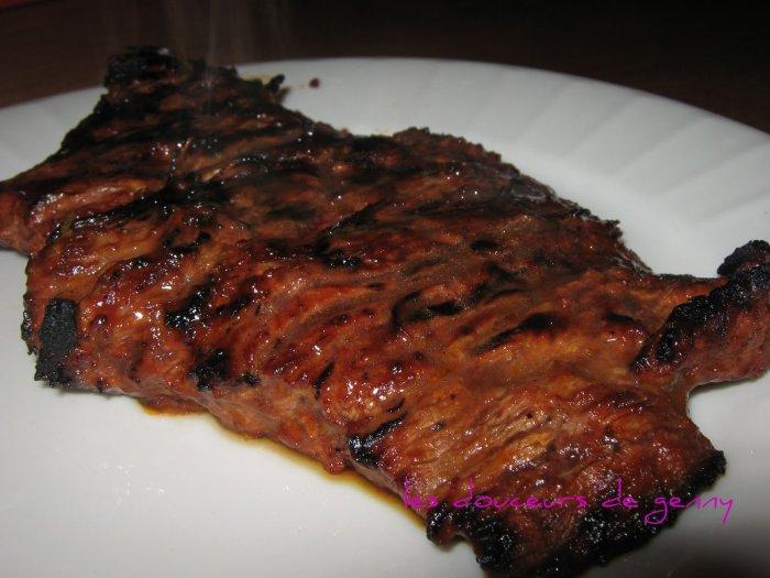 comment faire cuire une cote de boeuf au barbecue