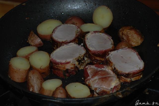 cote de porc barbecue moutarde