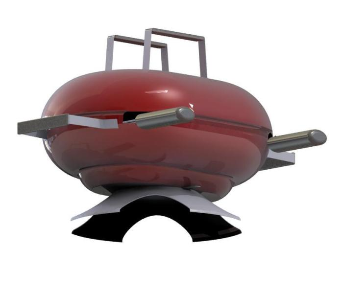 couvercle barbecue