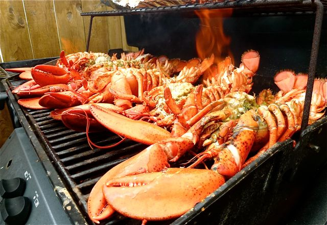 cuisson homard au barbecue