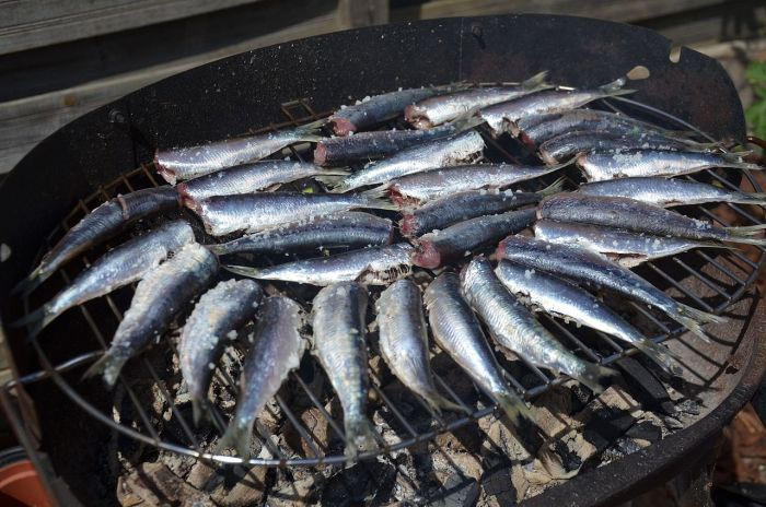 cuisson sardines barbecue