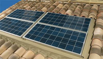 énergie photovoltaïque exposé