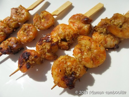 marinade brochette poulet barbecue