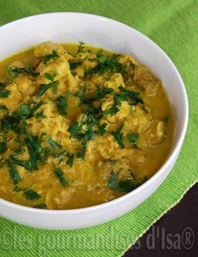 marinade coco curry