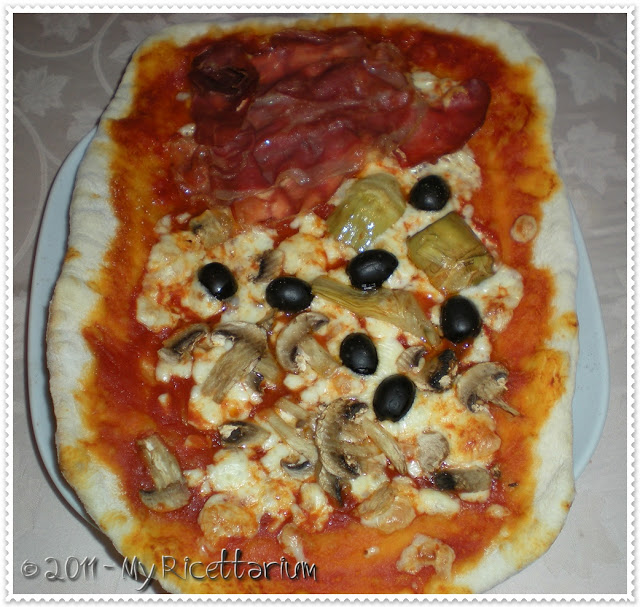 pizza au barbecue weber