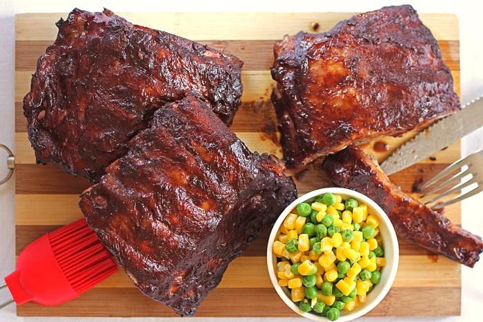 ribs au barbecue