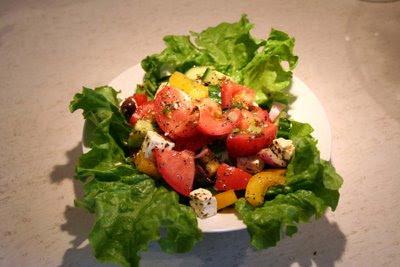 salade barbecue