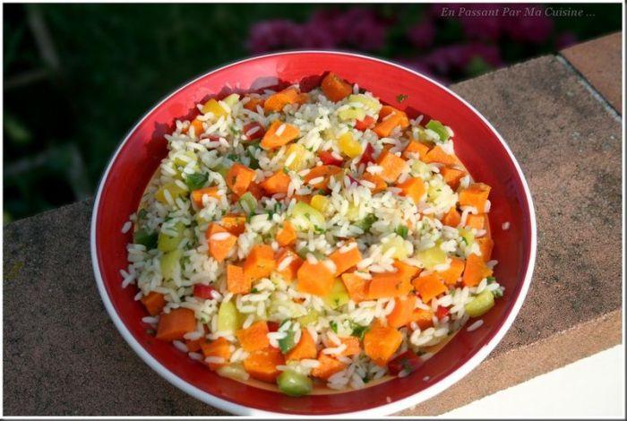 salade originale barbecue