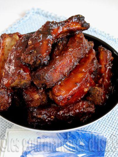 marinade cote de boeuf barbecue