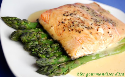recette filet saumon poêle