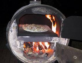 barbecue artisanal bidon