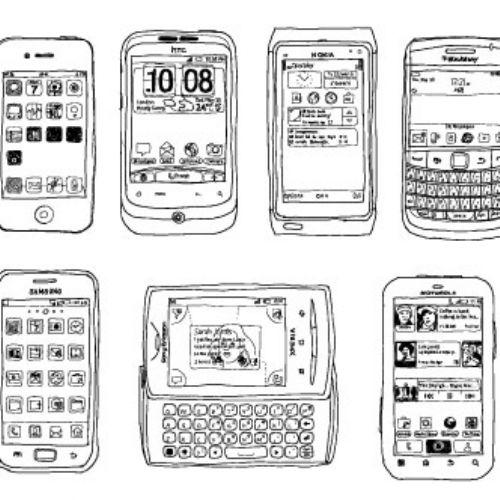 vectores smarthphone