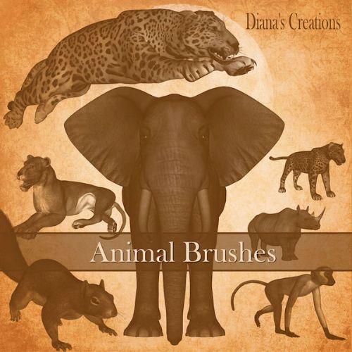 pinceles animales