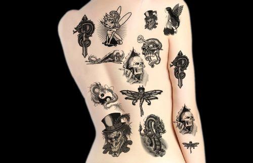 pinceles de tatuajes