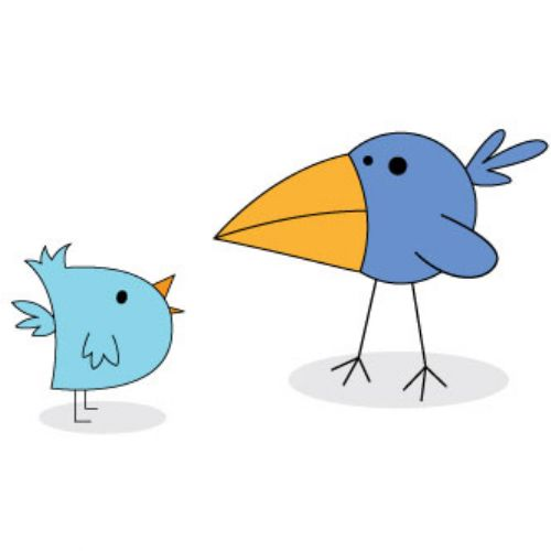 vectores twitter