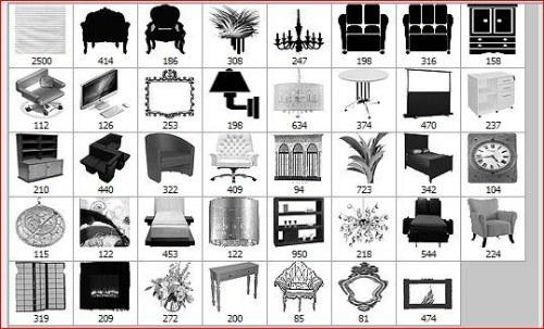 Set de pinceles de muebles  COFREGRAFICO
