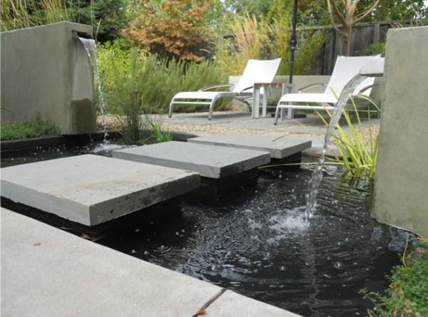modern garden pond ideas pool