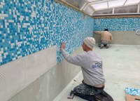 Pool Step Tile Designs | Pool Design Ideas