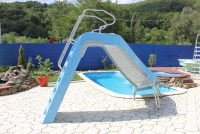 Backyard Pools With Slides | Pool Design Ideas