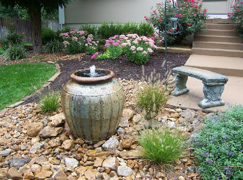 Garden Water Fountains Outdoor Modern Design Garden Water
