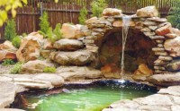 Small Pondless Waterfall Designs   Pool Design Ideas