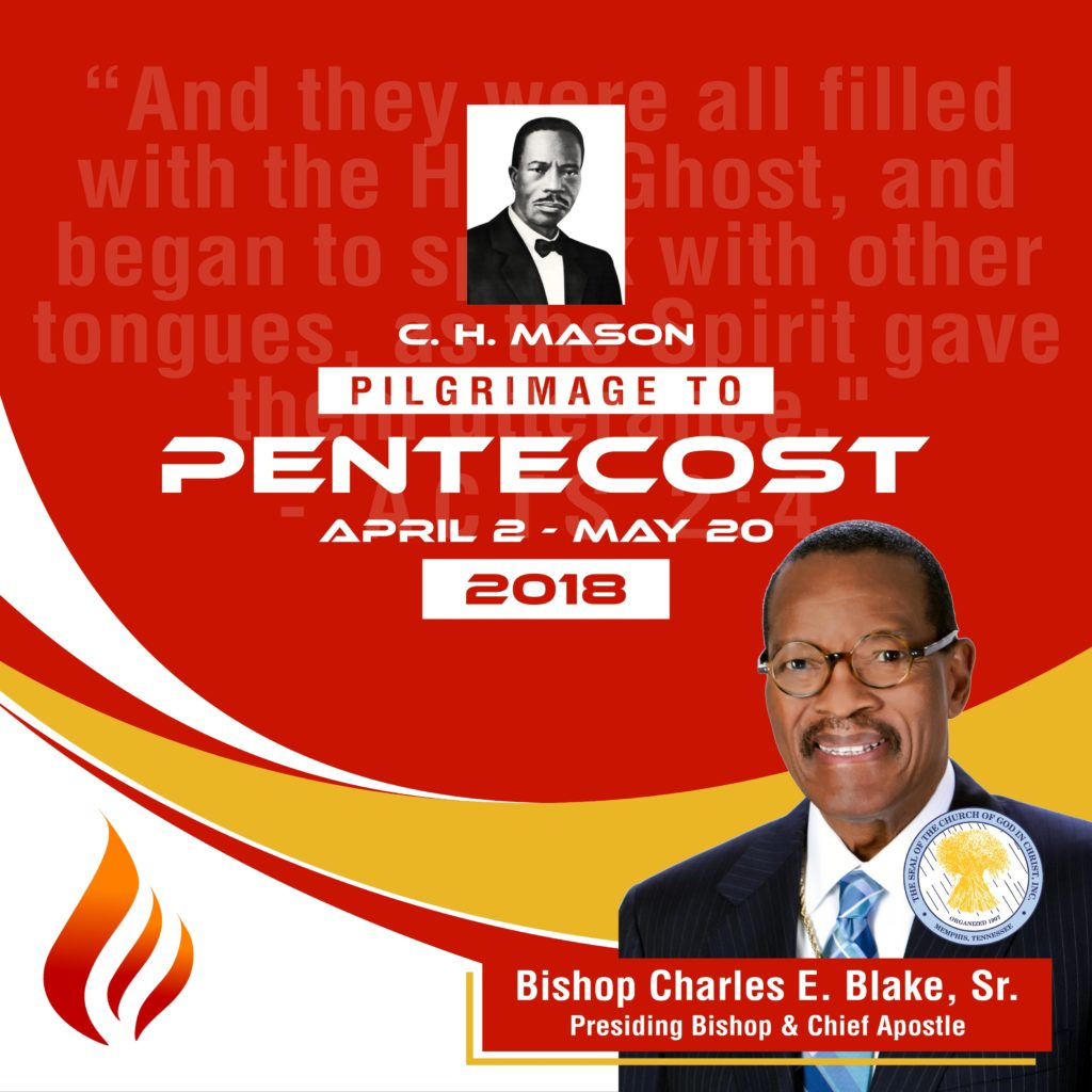 Pilgrimage to Pentecost  Church Of God In Christ