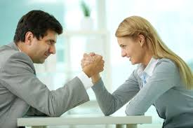 Conflict at work with a male boss
