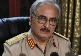 Il Gen. Jalifa Haftar, ex impiegato della CIA