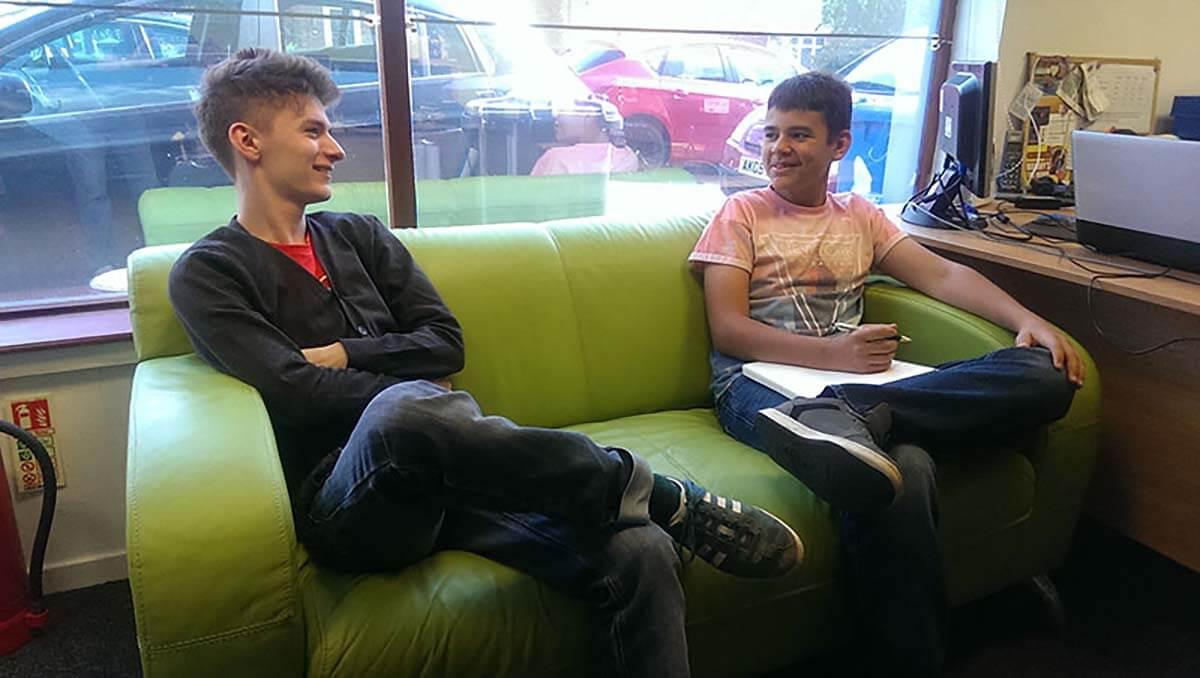 Jayden work experience interview