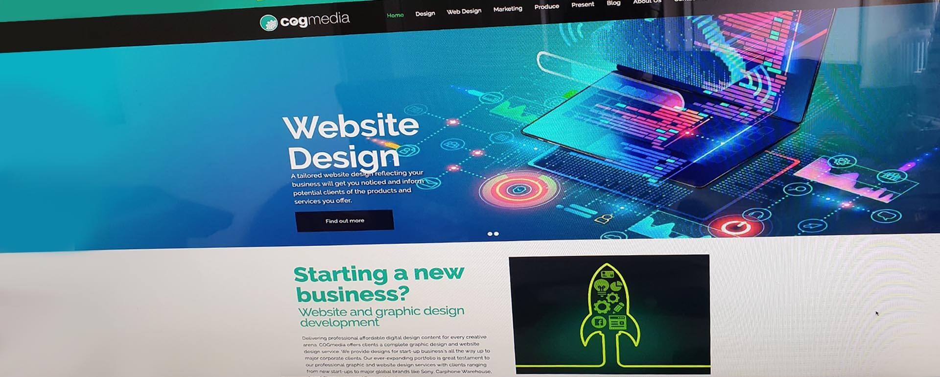 New Website Design for Norwich Design Company