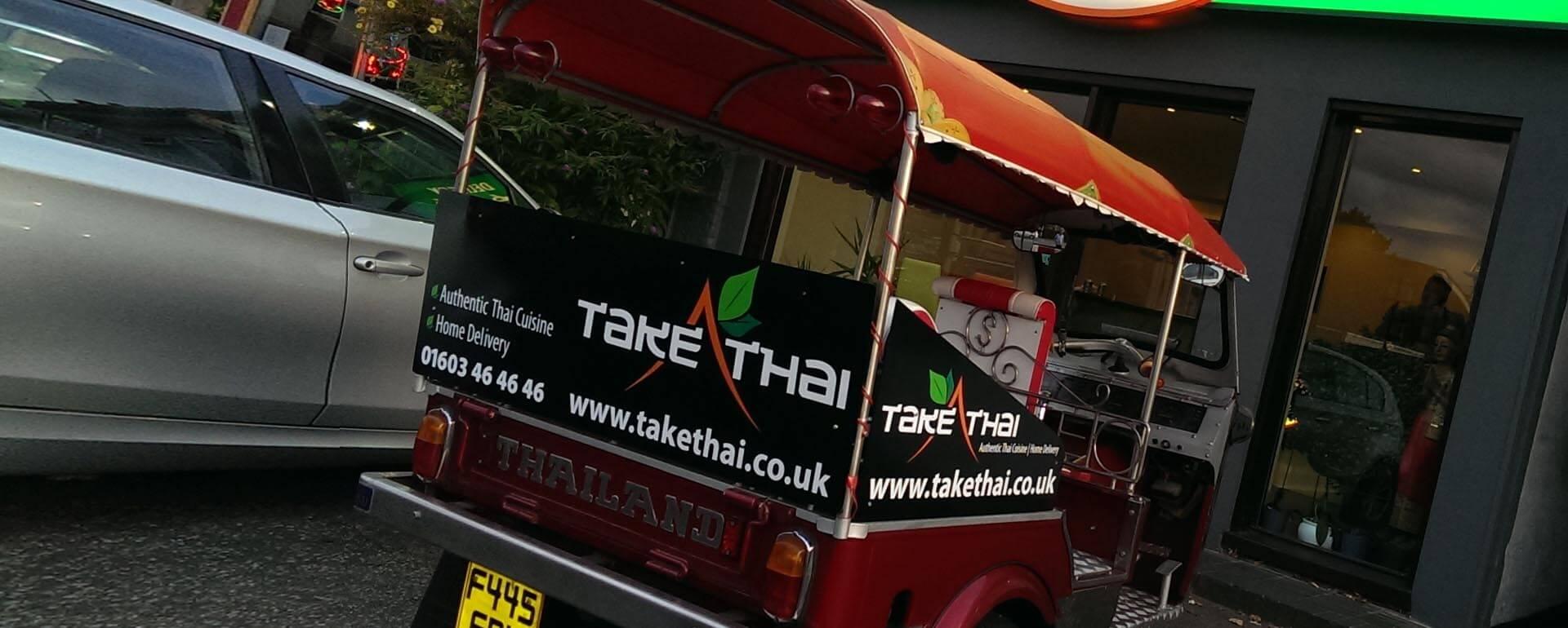 Take Thai Tut Tut Vinyl graphics Panels