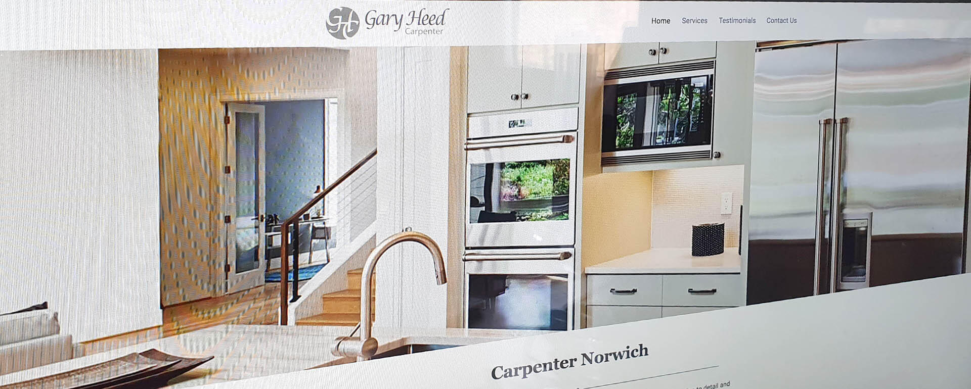 Web site Design Carpenter Norwich