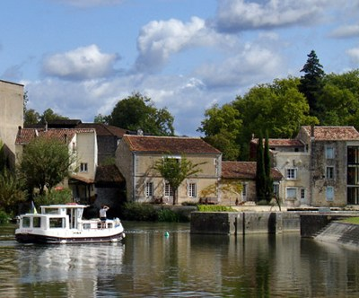 Canal Cruise Charente River Cognac France