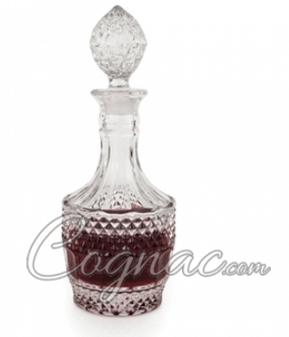 Crystal Cognac decanter