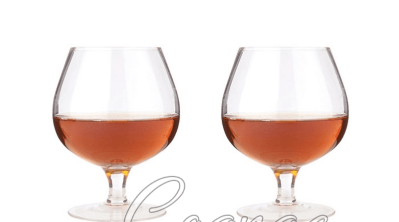 Wingback Balloon Cognac Glasses (Set of 2)