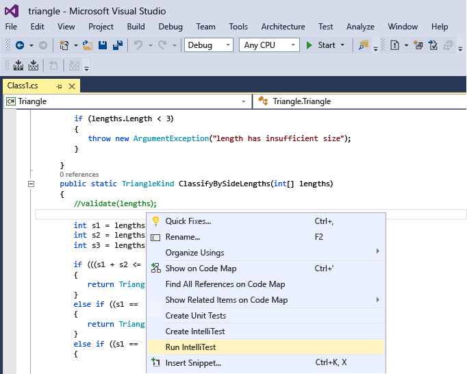 Intellistest in Visual Studio 2015 brings help for legacy software