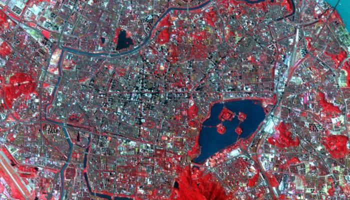 Image: NASA Image of Nanjing, China
