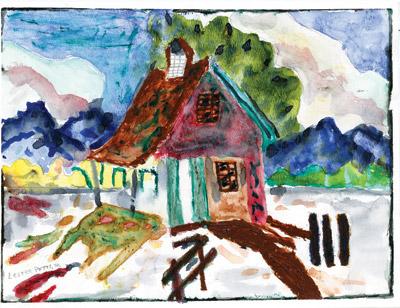 Farmhouse by Lester E. Potts, Jr.