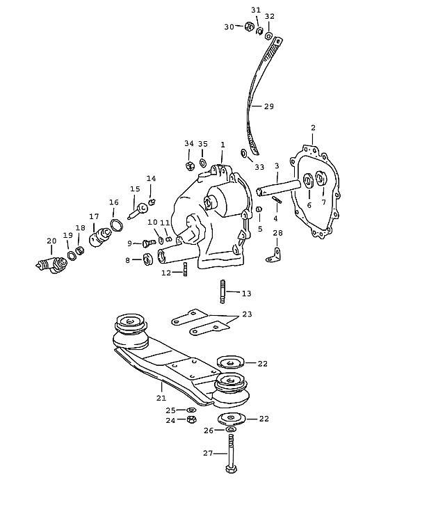 Porsche 911 Transmission Mid-grip nut