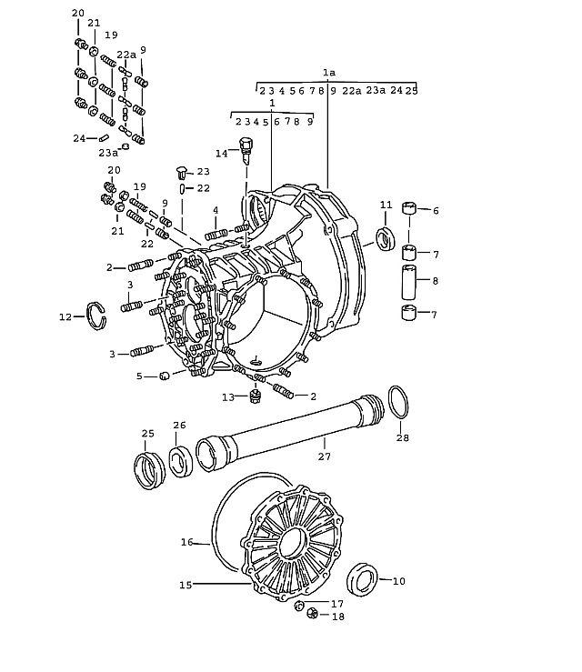 Porsche 911 Transmission Pipe