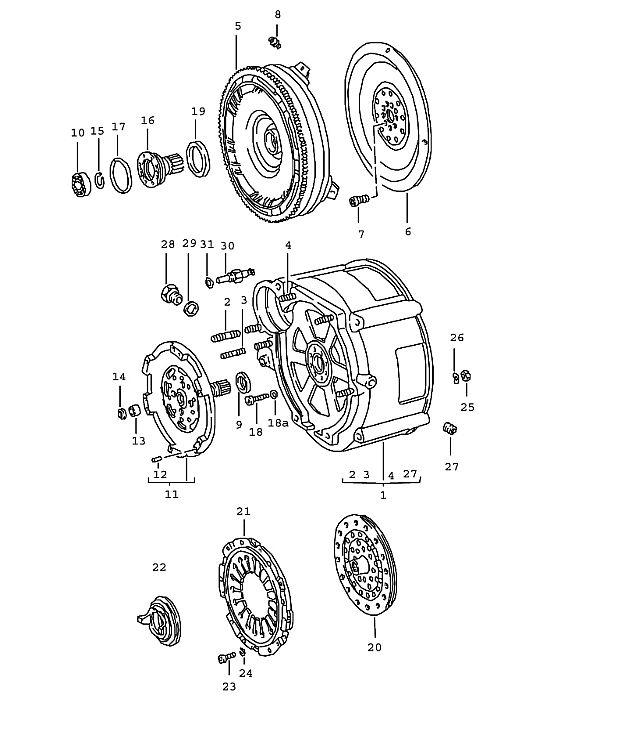 Porsche 911 Transmission Threaded insert heli-coil M 12X1.5