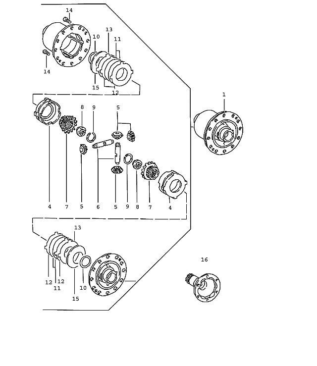 Porsche 911 Transmission ZF Limited Slip Differential