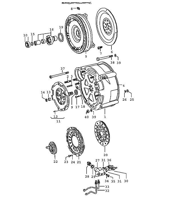 Porsche 914 Transmission Switch Housing
